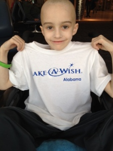 thank you Make-a-Wish!